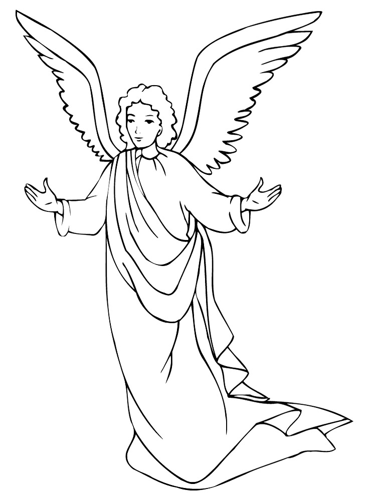 Annunciation Coloring Page  Catholic Icing