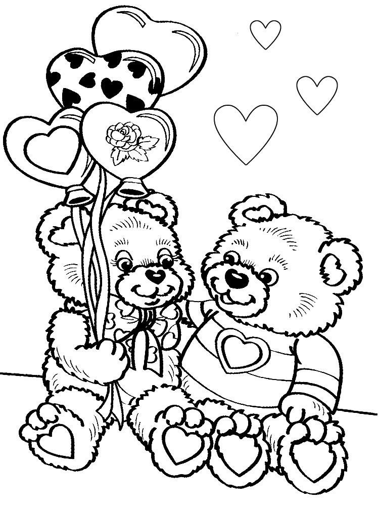 Черно-белые раскраски для распечатки для девочек