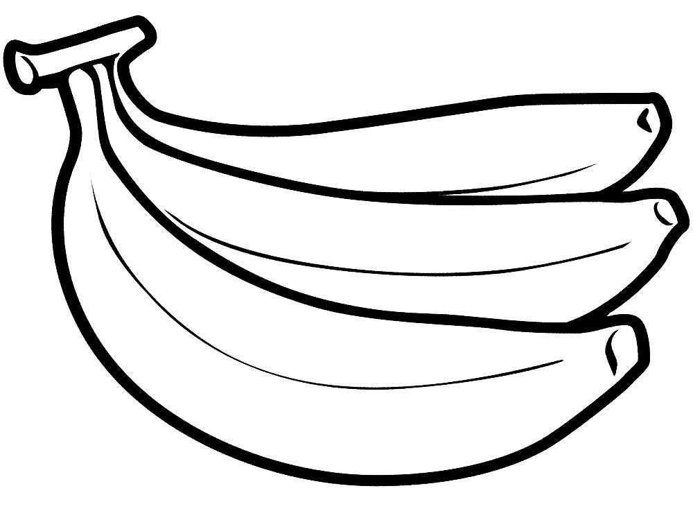 Раскраски бананы и дети 177